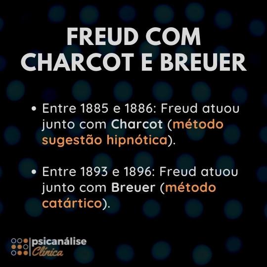Freud Breuer e Charcot, estudos