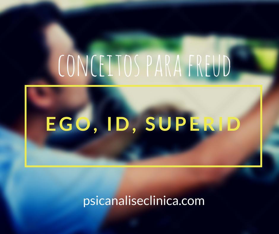 Ego, Id E Superego Na Teoria Psicanalítica De Freud