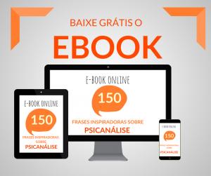 ebook Psicanálise frases