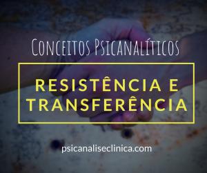 resistência e transferência