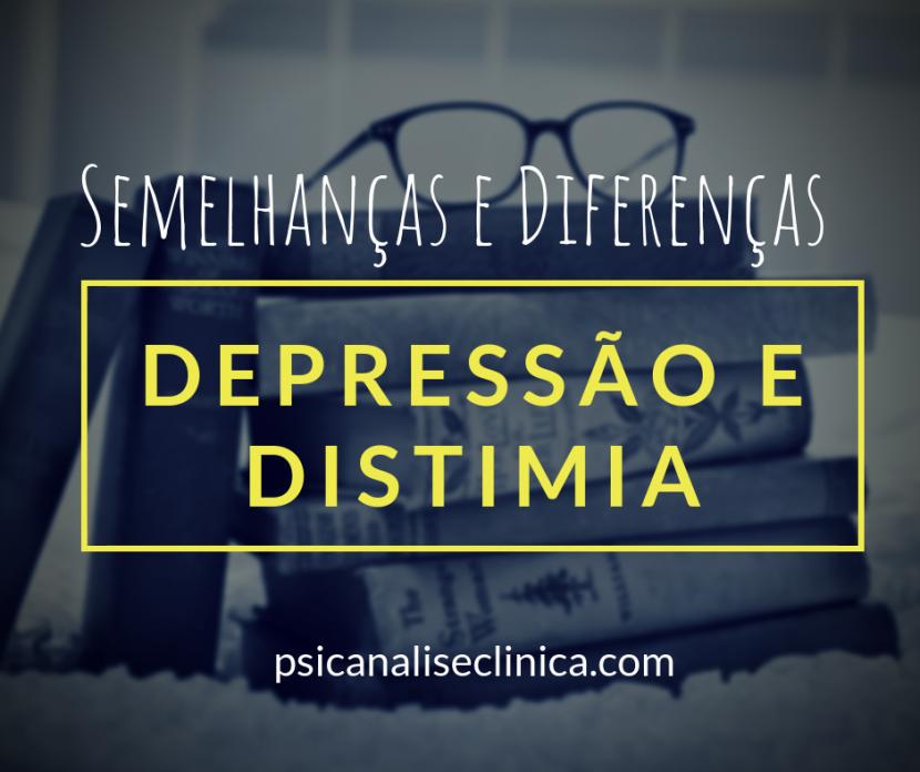 distimia depressão