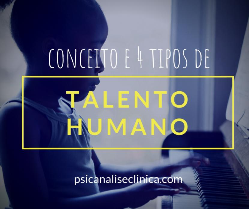 talento humano conceito tipos