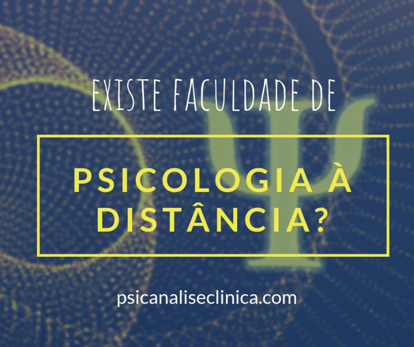 faculdade de Psicologia a distância, curso de psicologia a distância