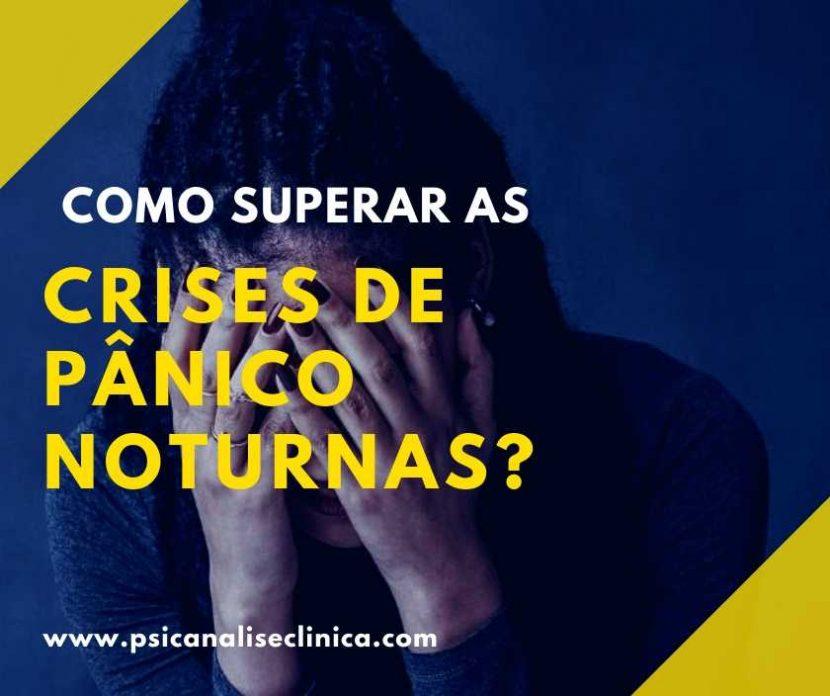 crises de pânico noturnas