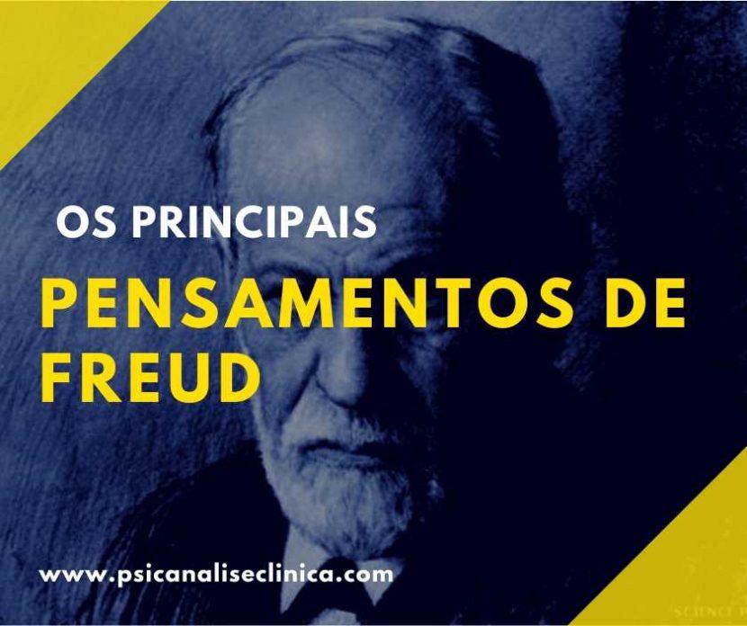 pensamentos de Freud