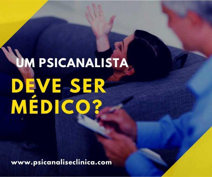 psicanalista é médico