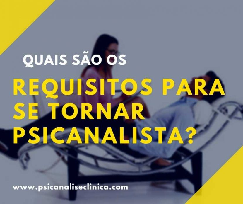 requisitos para atuar como psicanalista
