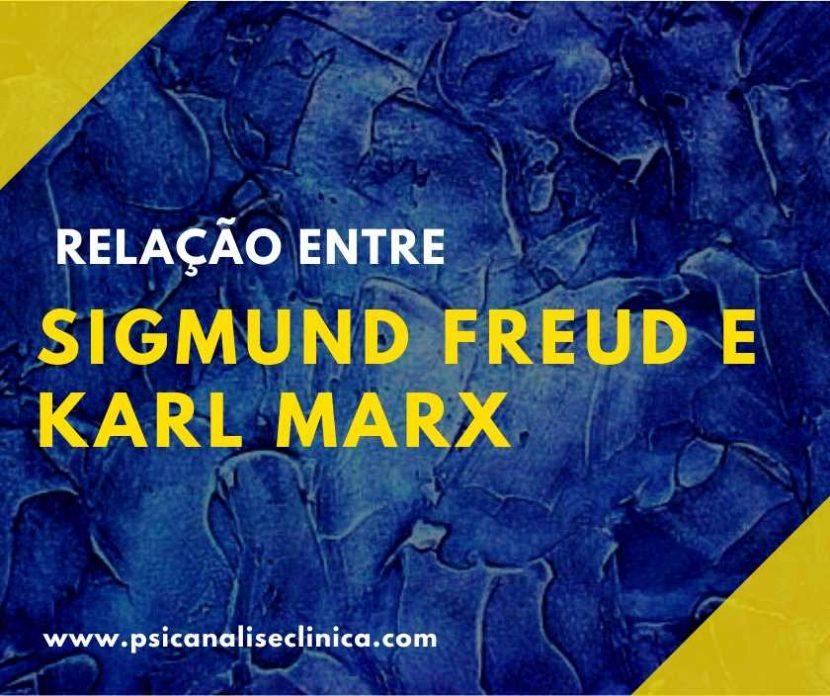 Sigmund Freud e Karl Marx