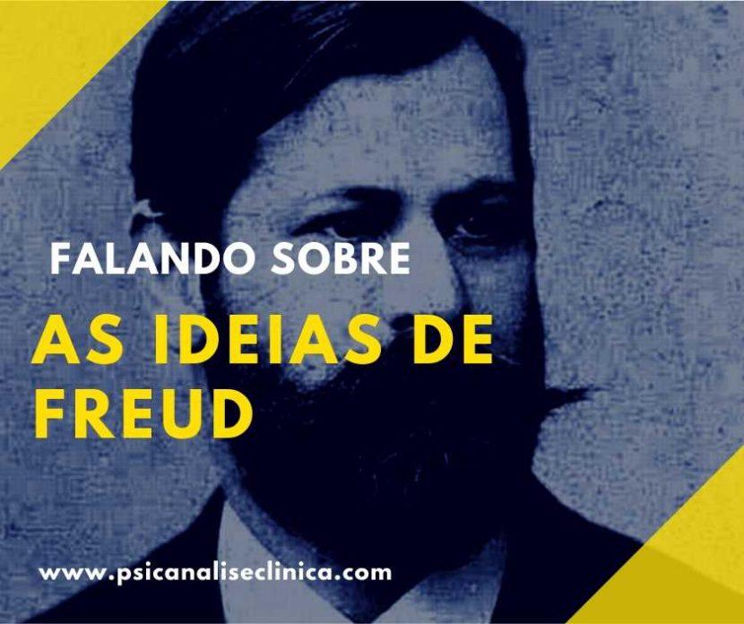 principais ideias de Freud