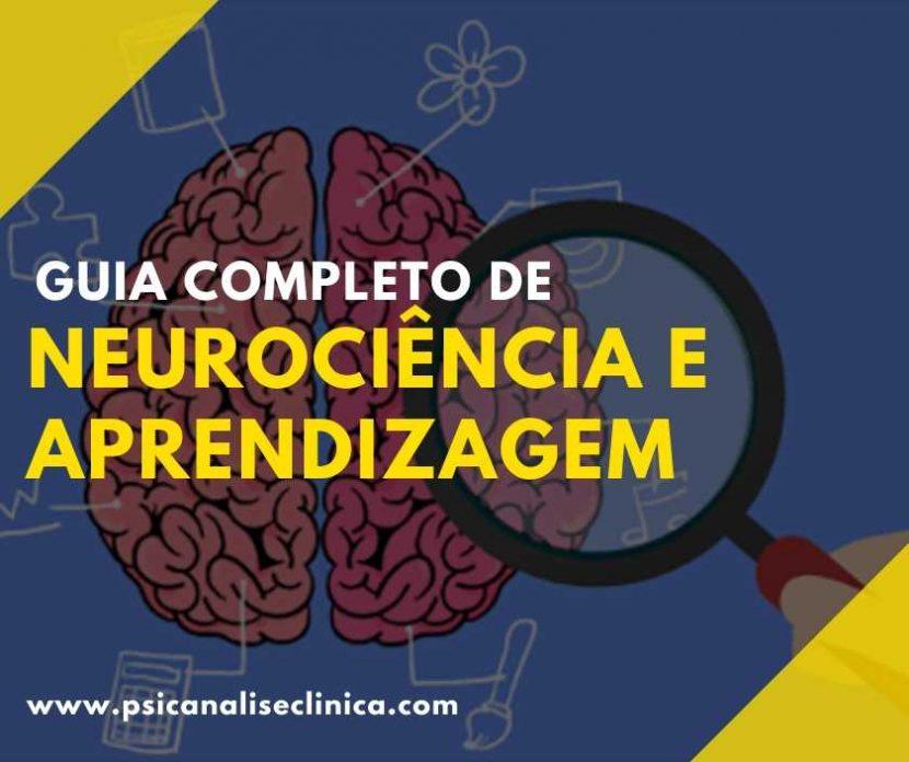 neurociência e aprendizagem