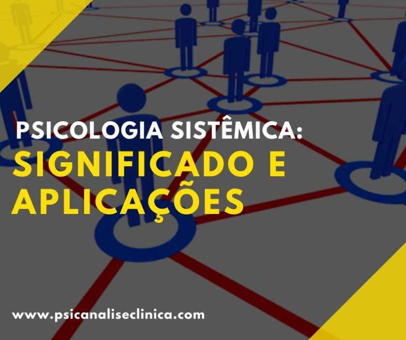 Psicologia sistêmica