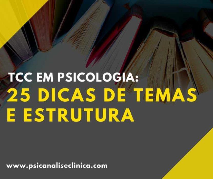 TCC em Psicologia