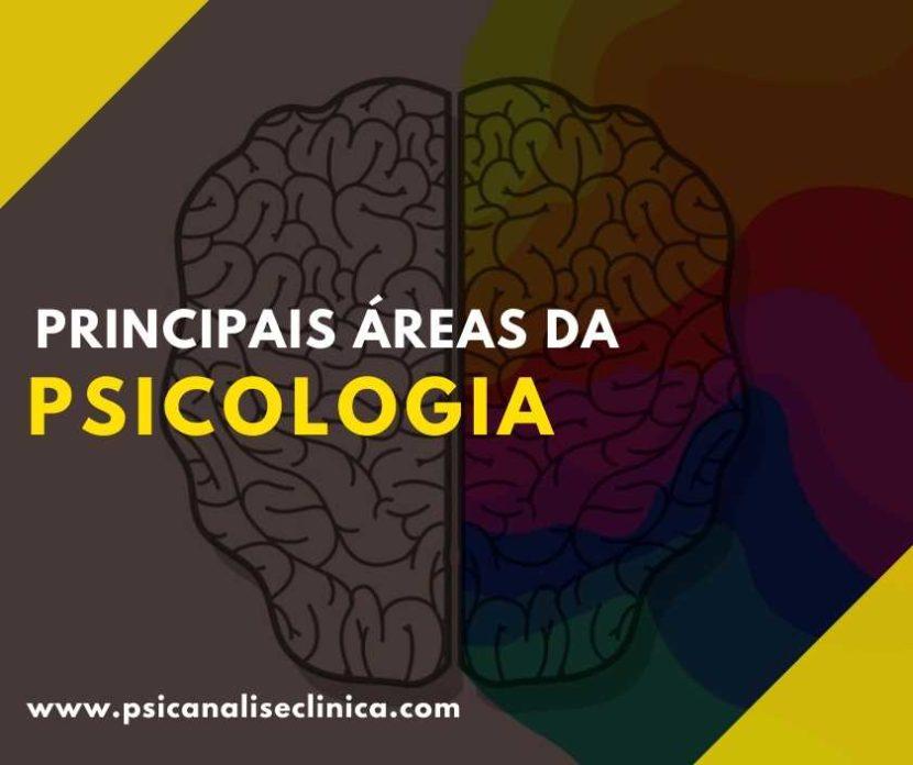 Áreas da Psicologia