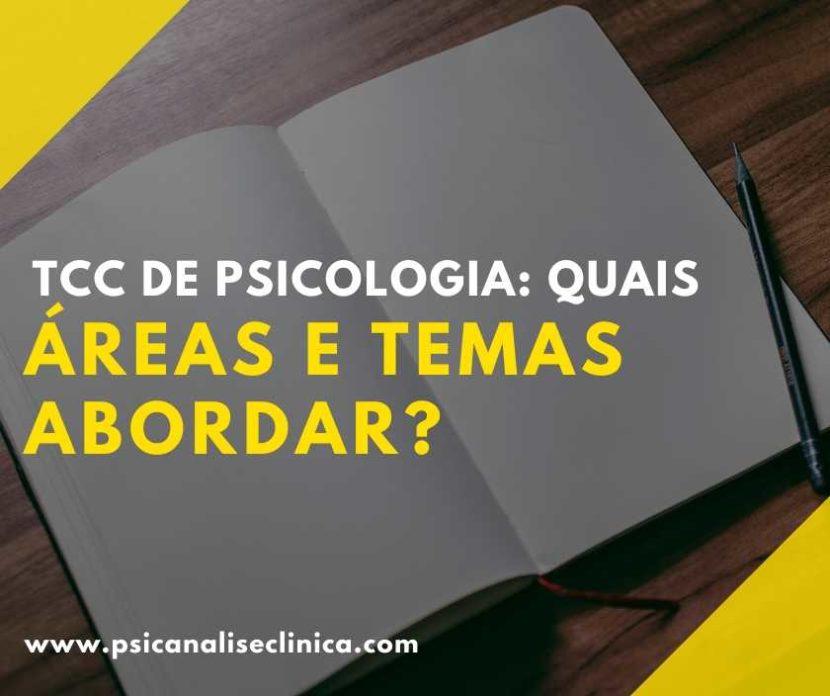 TCC de Psicologia