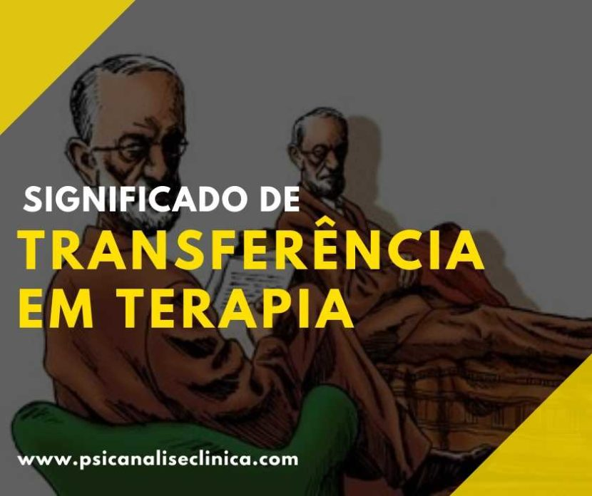 significado de transferência na terapia