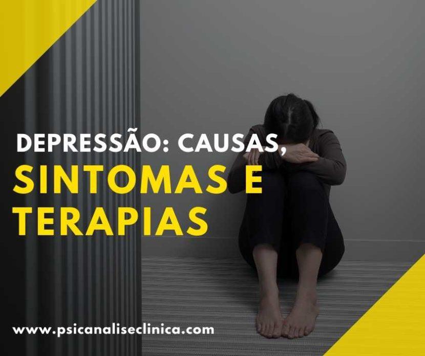 tipos de depressão, causas sintomas e terapias contra depressão