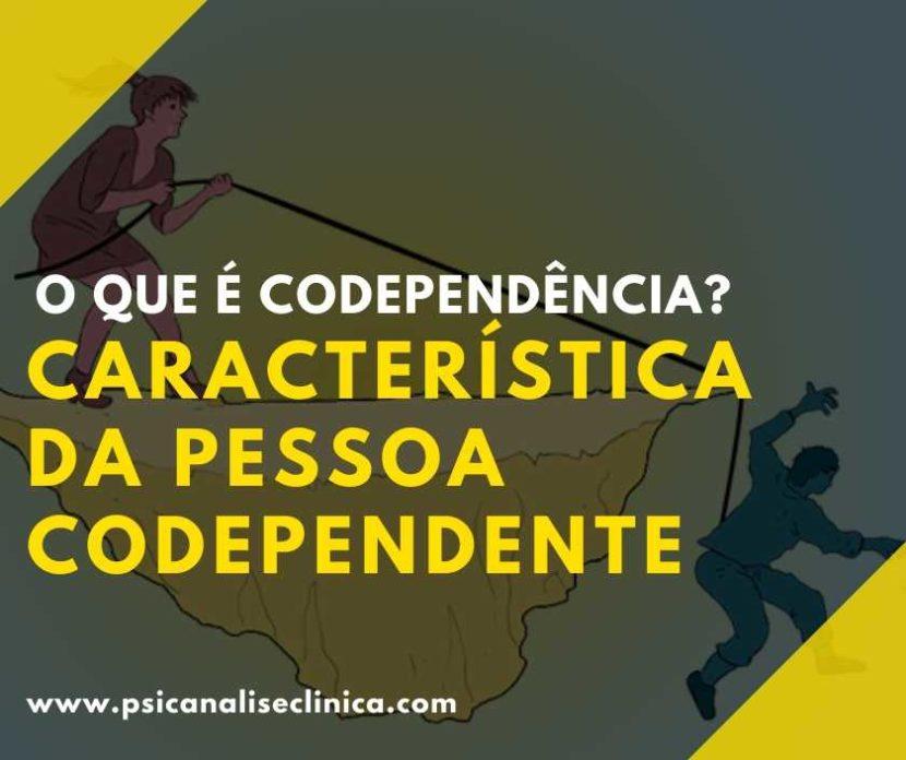o que é codependência