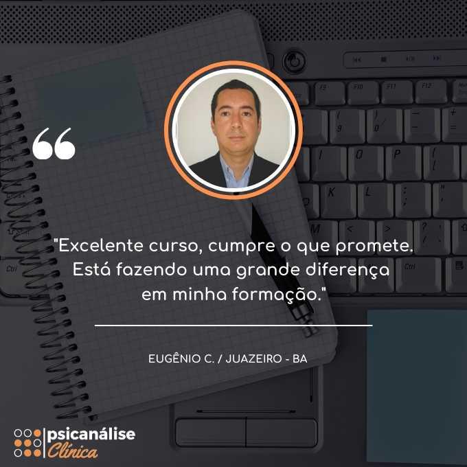Depoimento aluna curso psicanálise clínica juazeiro Eugenio