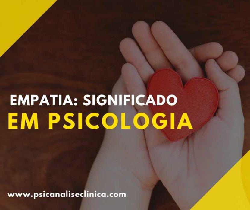 significado de empatia na psicologia