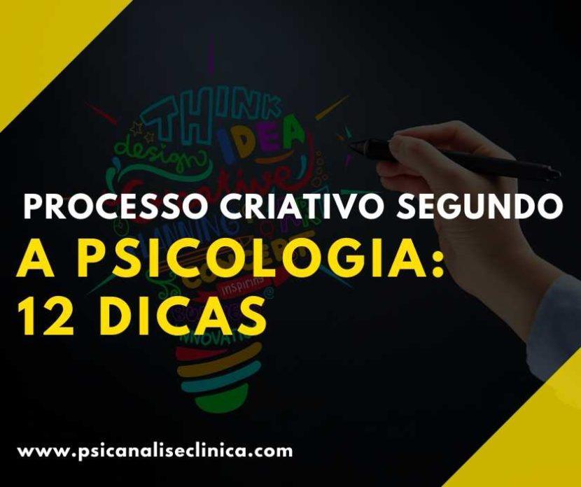 processo criativo para a psicologia