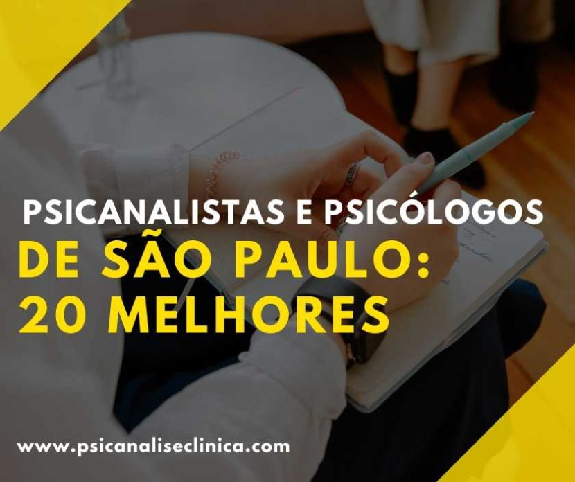 psicólogos e psicanalistas de São Paulo