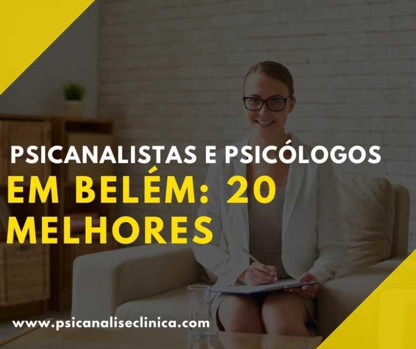 Psicanalistas em Belém