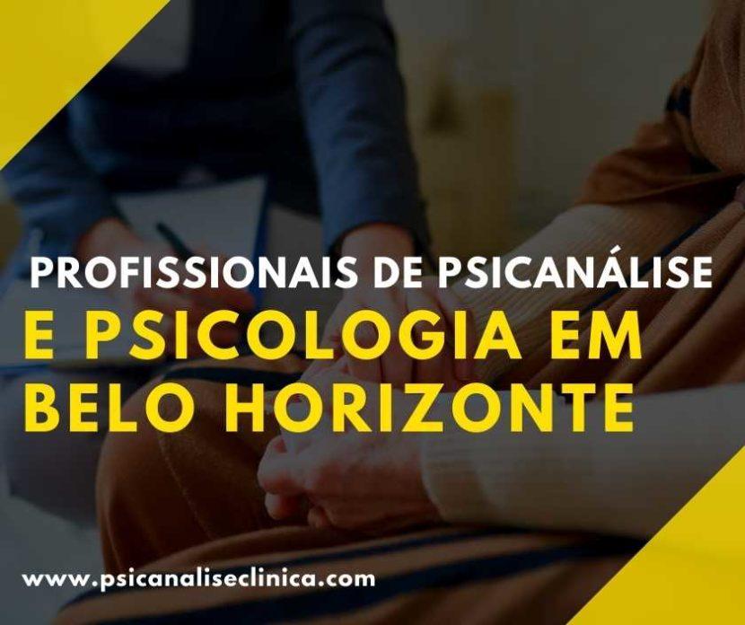 Psicanalista em Belo Horizonte