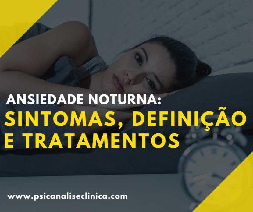 tratamentos para ansiedade noturna