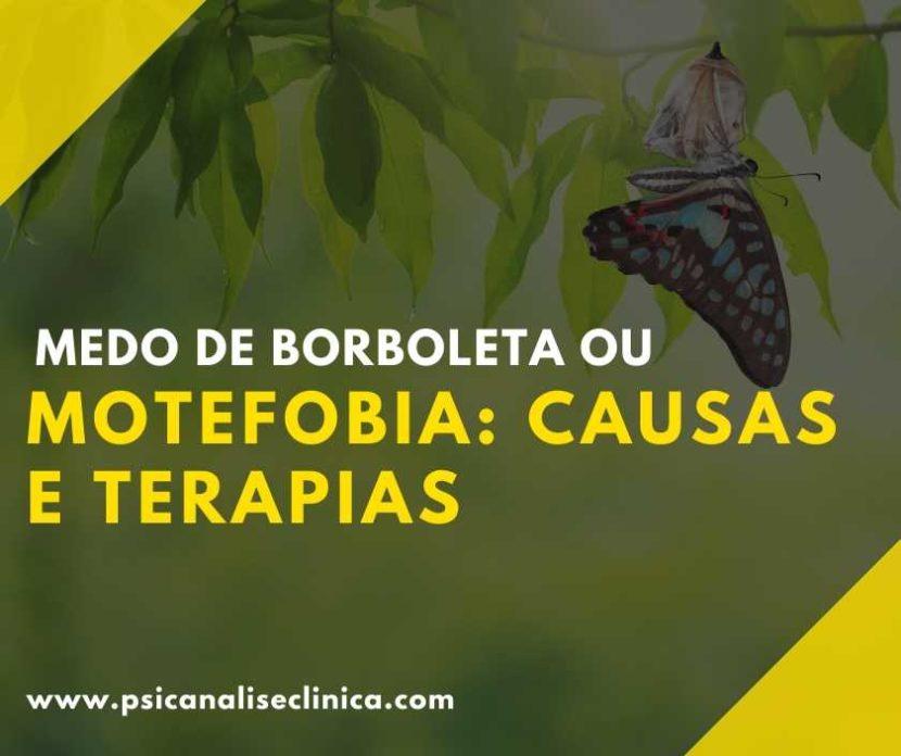 medo de borboleta