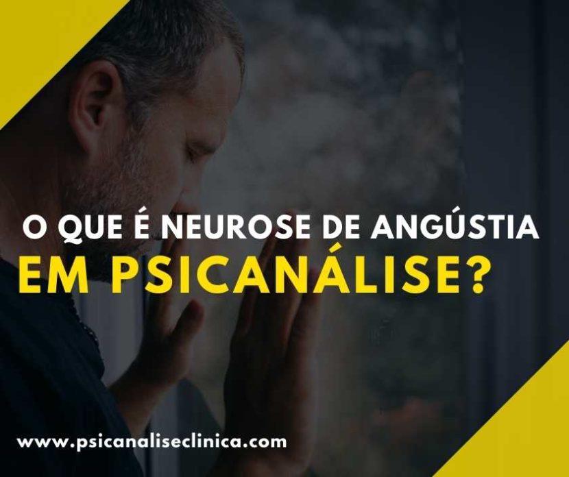 neurose para a psicanálise