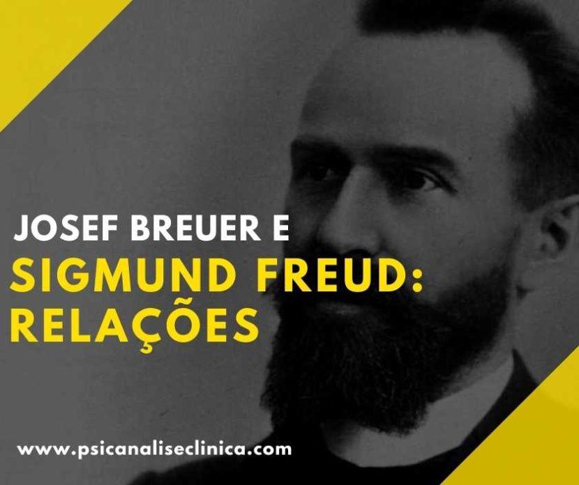 relações entre Josef Breuer e Freud