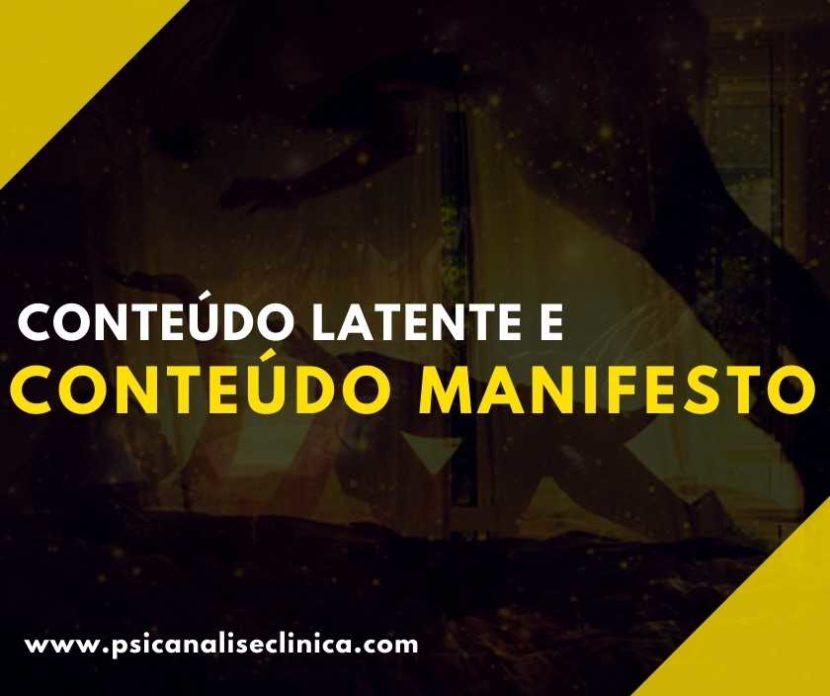 conteúdo manifesto
