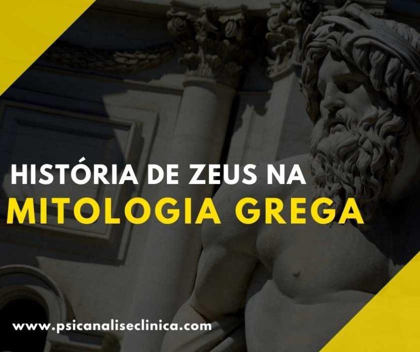 zeus na mitologia grega