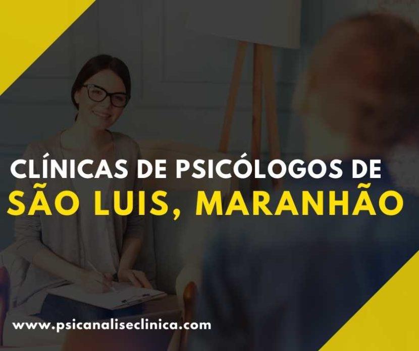 clínicas de Psicólogos de Maranhão