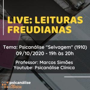 live psicanalise clínica sobre a psicanálise selvagem