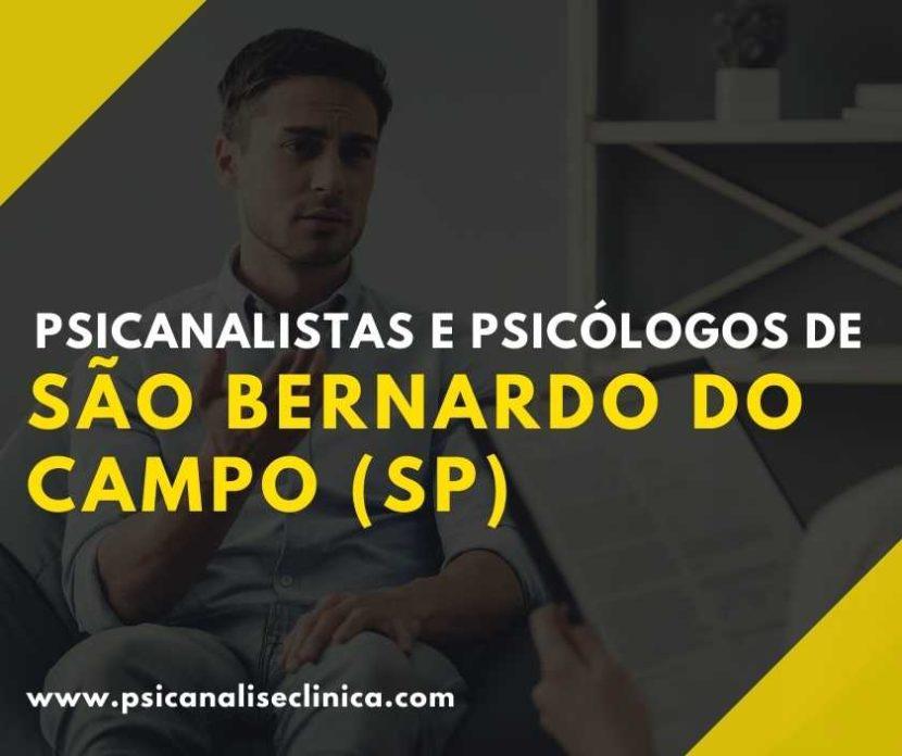 psicanalistas em São Bernardo do Campo