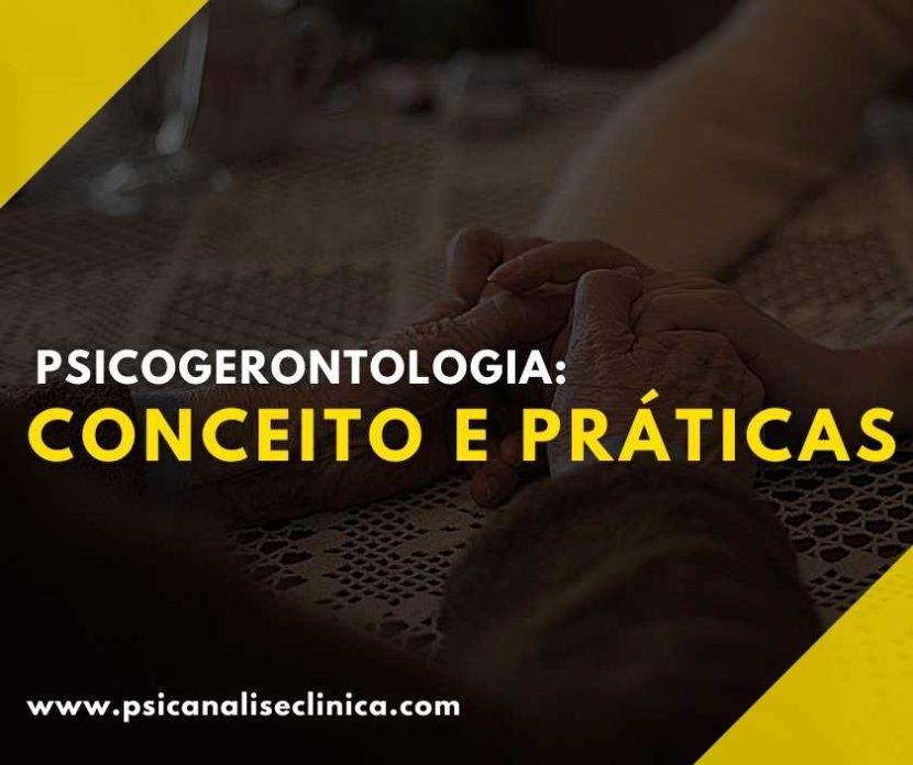 psicogerontologia conceito