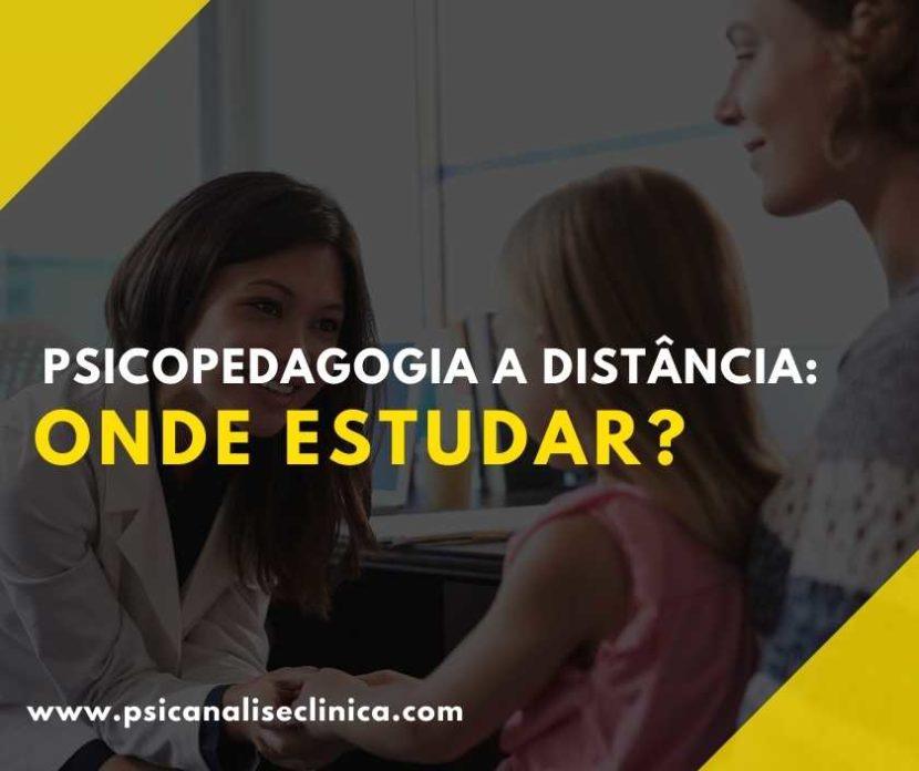 psicopedagogia a distância