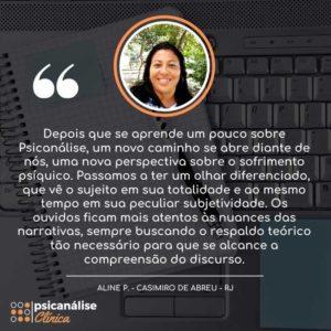 Psicanálise Clínica Curso Depoimento Casimiro de Abreu RJ