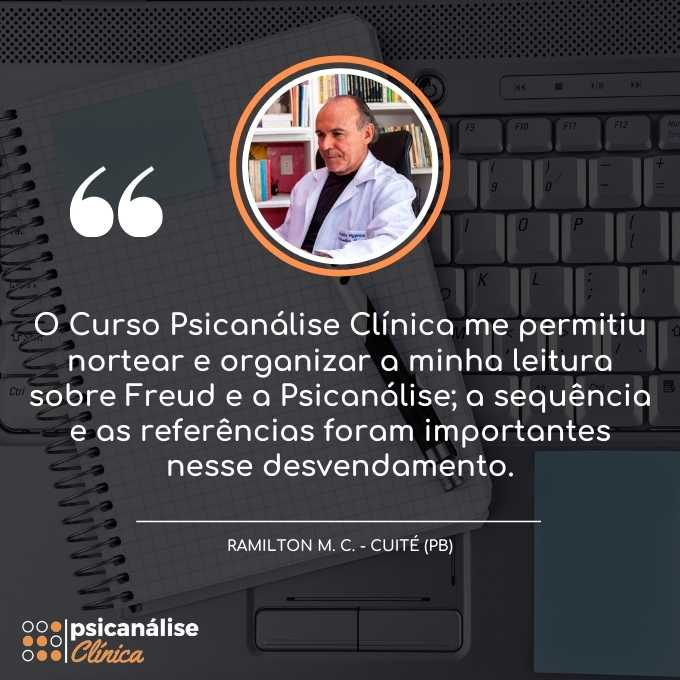 Psicanálise Clínica Curso Online EAD - Ramilton Paraíba