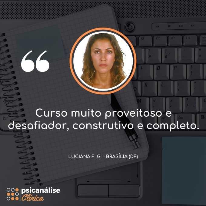 Psicanálise Clínica Curso Online Distrito Federal Brasília