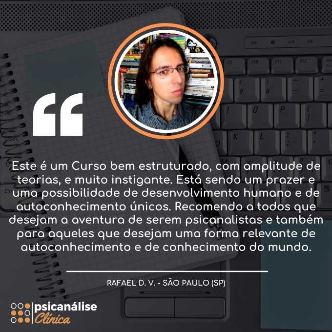 Curso EAD Psicanálise Rafael SP