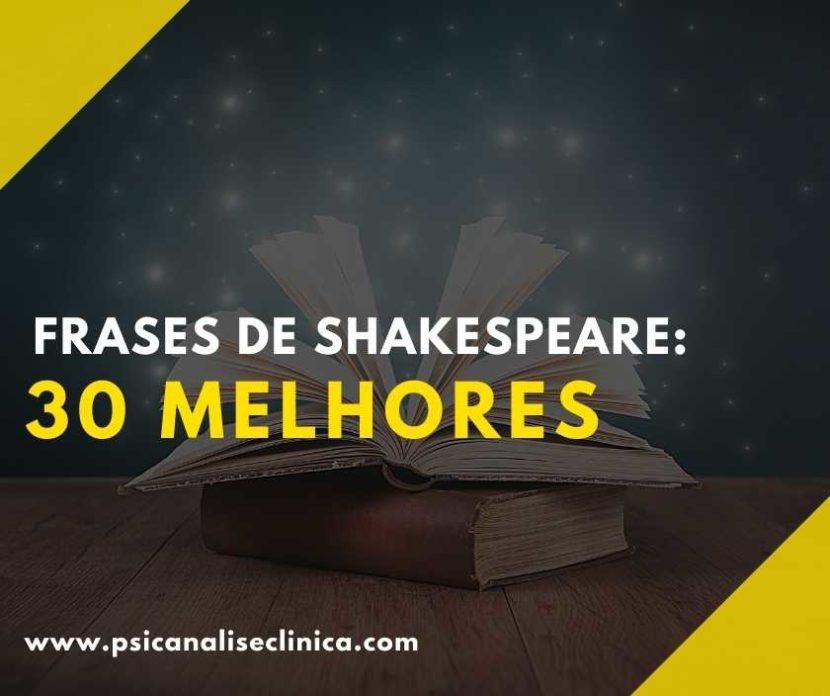 melhores frases de Shakespeare