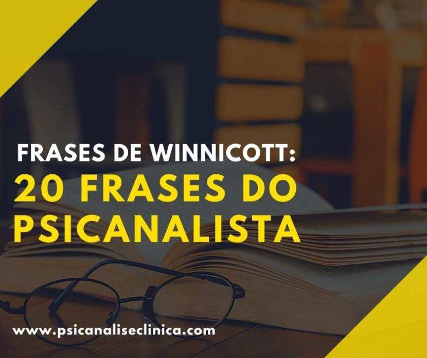 frases de winnicott sobre criatividade