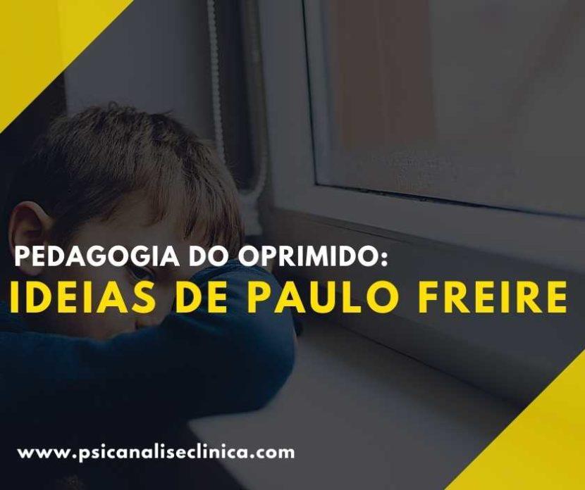pedagogia do oprimido de Paulo Freire