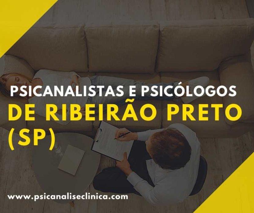 psicanalistas em Ribeirão Preto