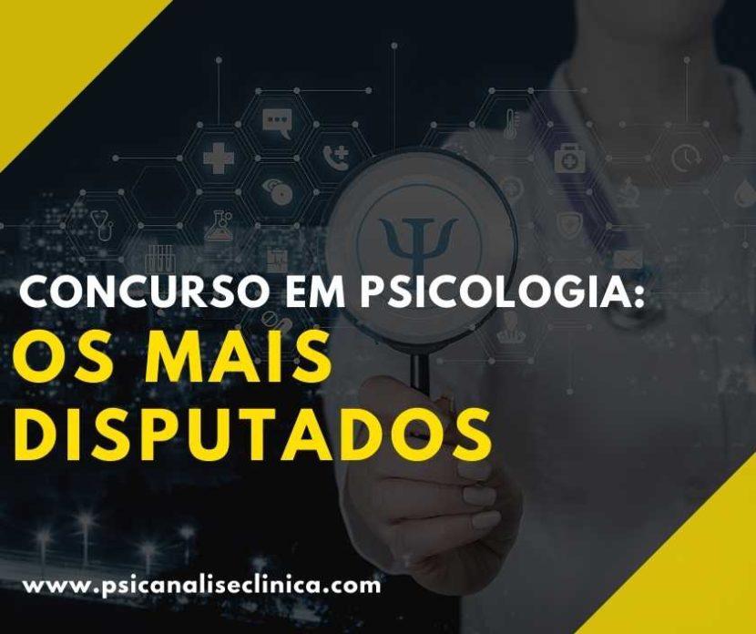 concurso em Psicologia
