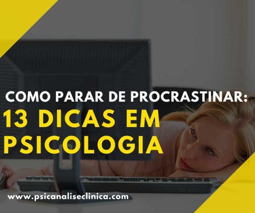 como não procrastinar nos estudos