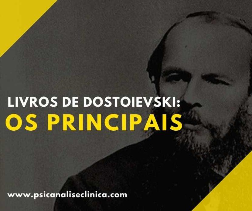 livros de Dostoievski
