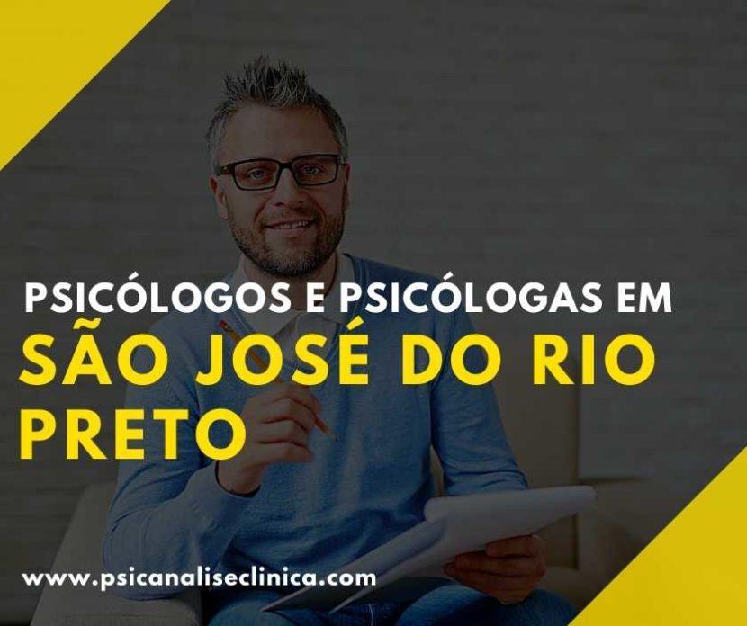 psicanalistas em Rio Preto